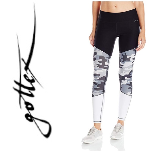 83324f5c9fa94 Gottex Pants | Color Block Legging Camo | Poshmark
